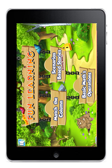 Fun Learning Age 2-5 iPad App